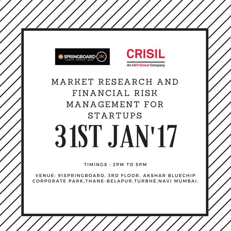 Market Research and Financial Risk Management for Startups
